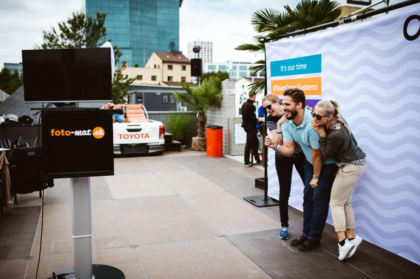Der Fotomat · Die Fotobox für Dein Sommerfest